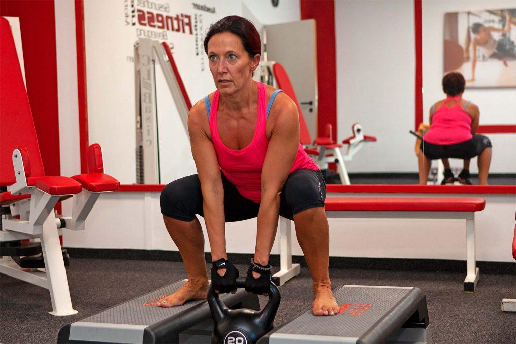 Kettlebell-Training im Frauenbereich