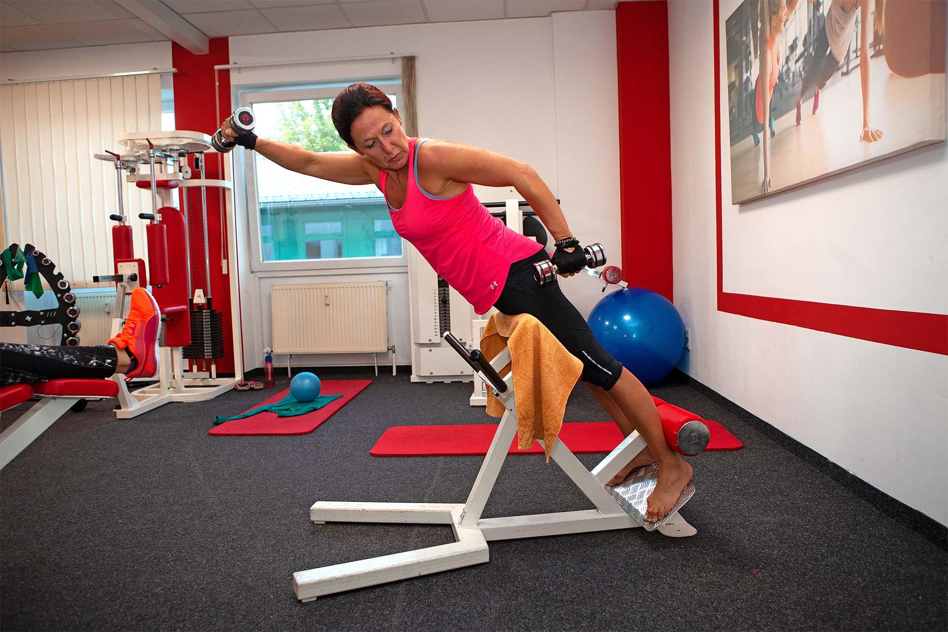 Ungestörtes Training im Frauenbereich der Sportarena Meiningen